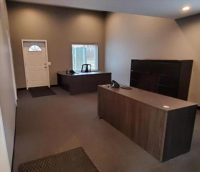 After remodeling commercial office