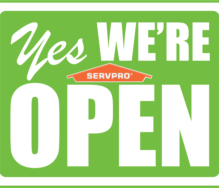 Yes We Are Open graphic